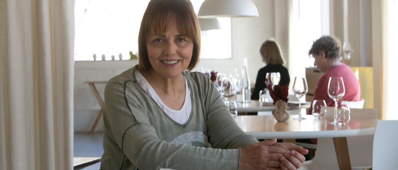 Fotografía de archivo de la chef alicantina María José San Román.