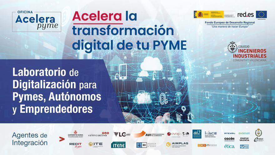 El COIICV, nueva oficina Acelera Pyme, con un programa gratuito que transformará digitalmente las compañías valencianas