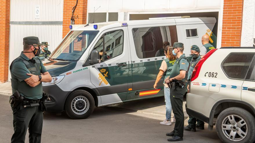 El asesino confeso de Rocío Caíz pasa a disposición judicial en la localidad sevillana de Estepa