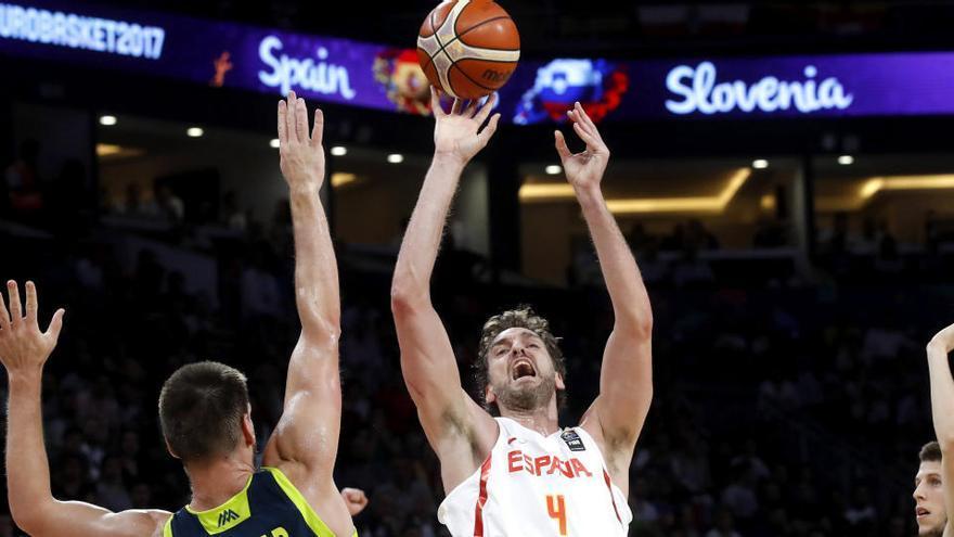 Pau Gasol, líder en eficiencia, según un informe de la FIBA