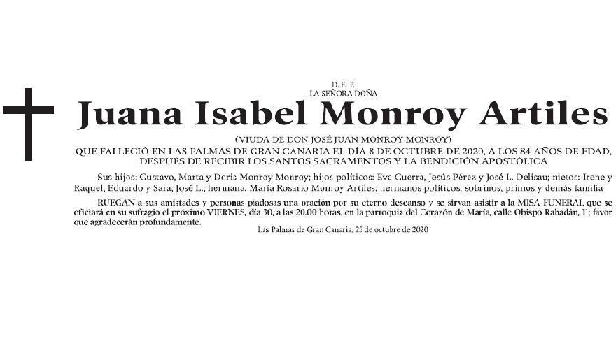Juana Isabel Monroy Artiles