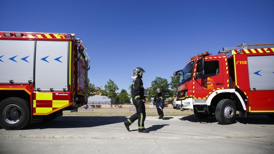 Hallan el cadáver de un hombre en un piso afectado por un incendio en Pamplona