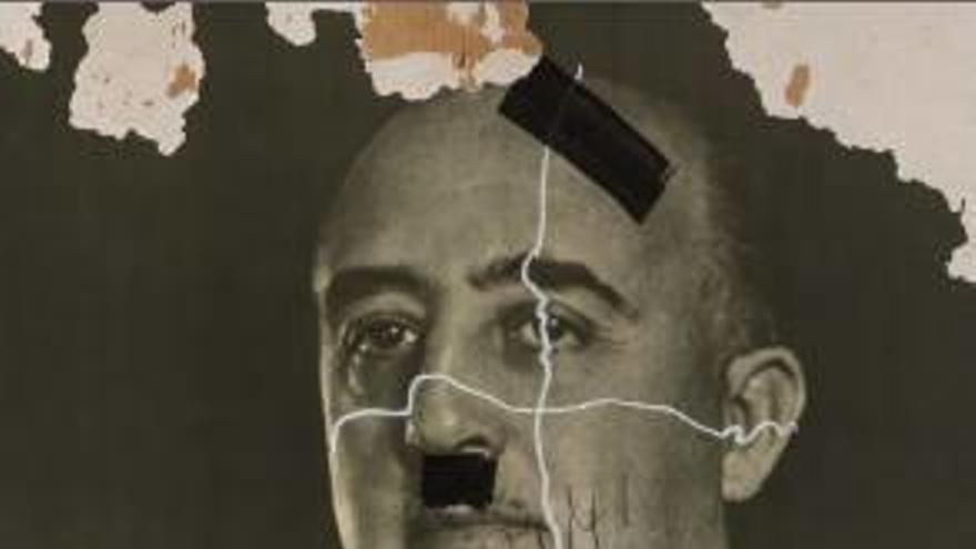 Una exposició de Fita contra la censura inclou un retrat de Franco