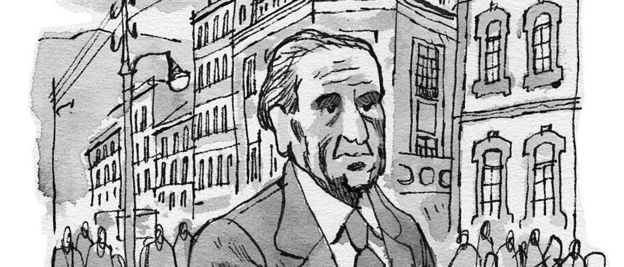 Álvaro Albornoz da la cara en Mieres
