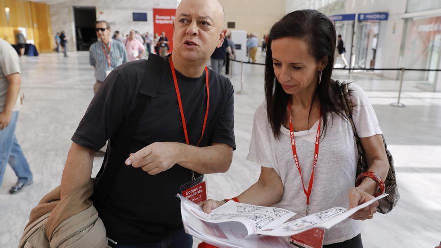 Malestar en el javierismo por el dominio absoluto de Sánchez en los órganos de control del PSOE