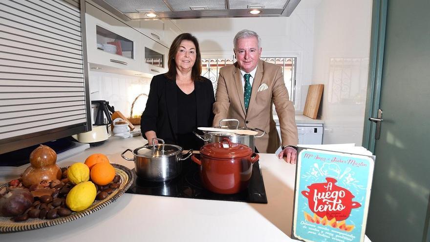 Amor y Javier Martín: «En el libro, la cocina y la vida se cuecen juntas»