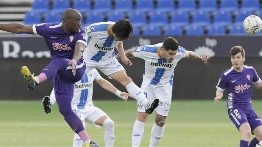 El Girona atrapa l'Sporting, que empata a Butarque (0-0)