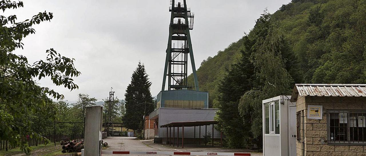 El pozo Carrio, de Hunosa, uno de los últimos en cerrar.