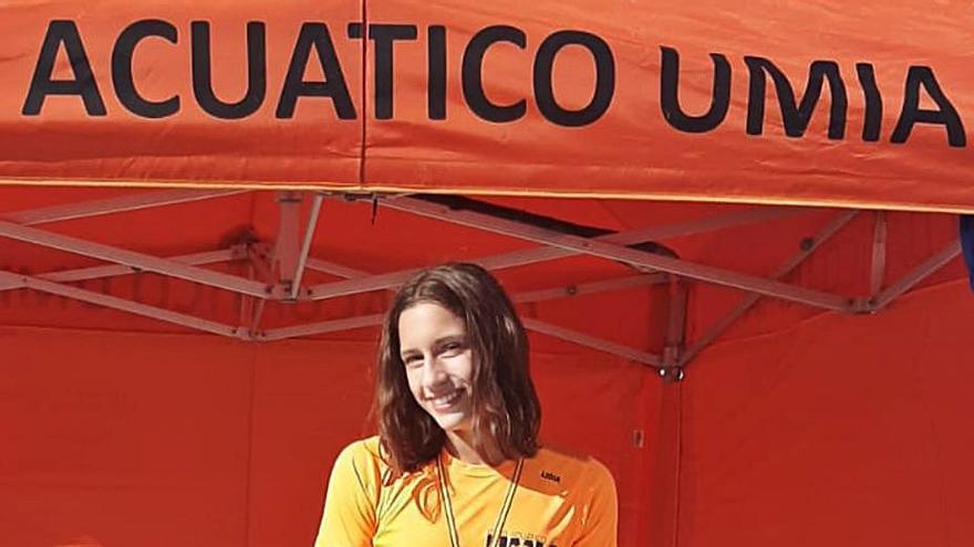 Lidia Aboy, oro en el campeonato de España de Laxe