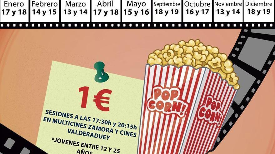 Vuelve el Cine Joven a Zamora: entradas a un euro