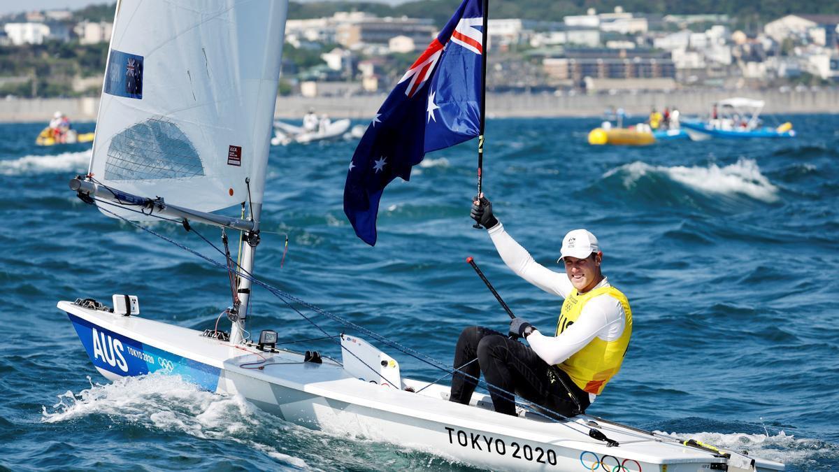 El australiano Matt Wearn.