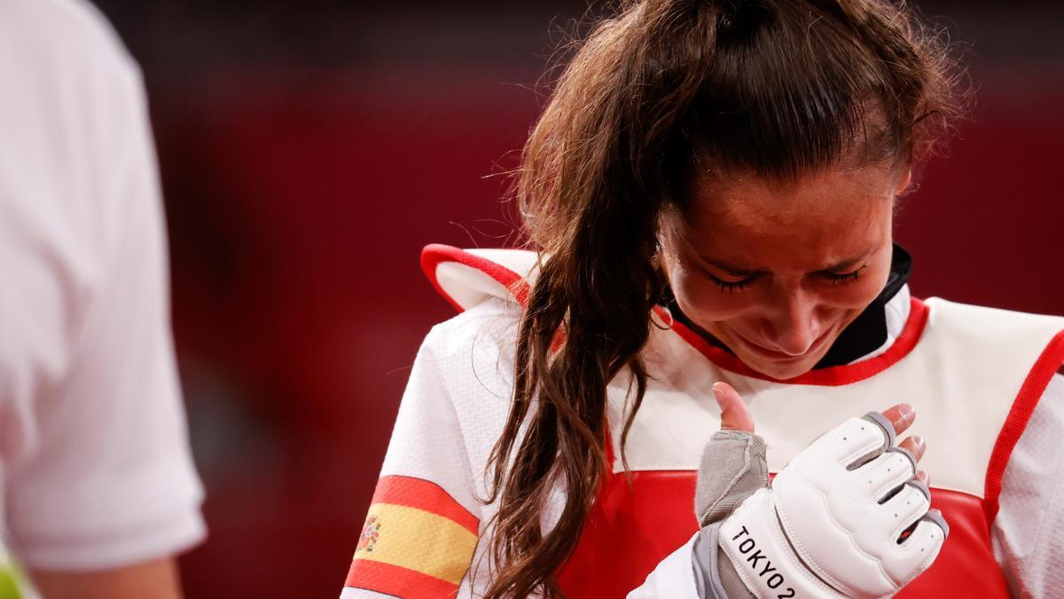 La taekwondista española Adriana Cerezo.