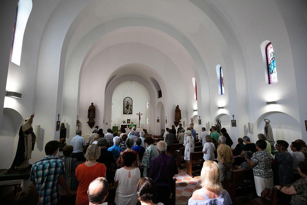 Procesión de la Virgen del Carmen en es Cubells