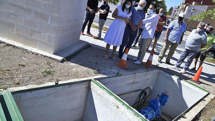 Un nuevo pozo garantiza el riego seguro en la huerta de En Corts y la Fonteta