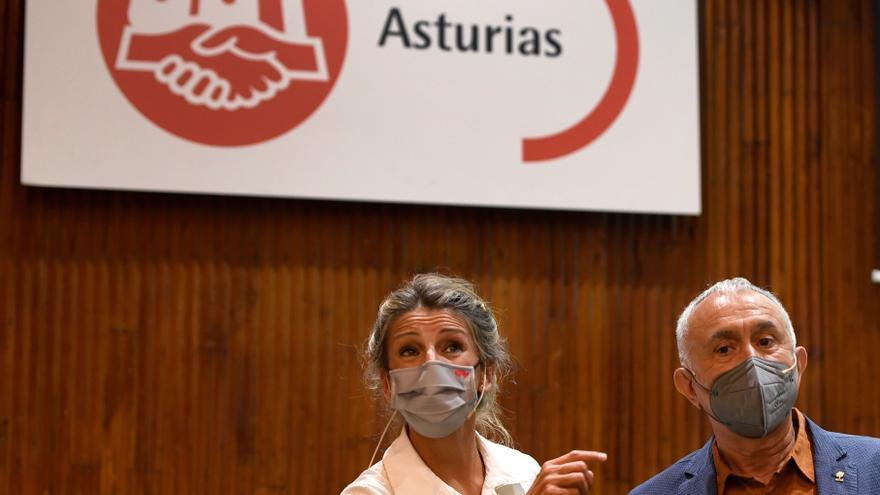 Díaz se compromete a que la reforma laboral llegue al BOE antes de fin de año