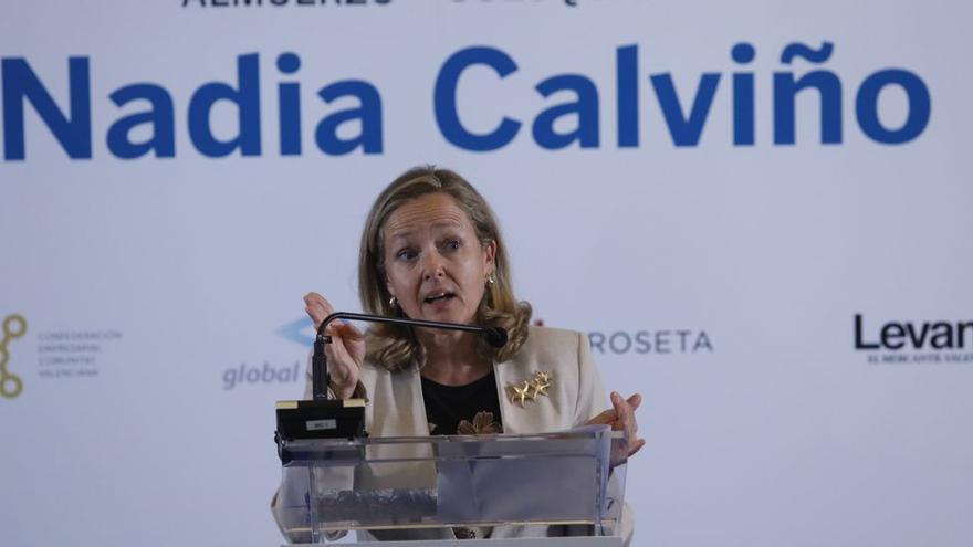 """Los empresarios valencianos reprochan a Calviño ser tratados """"como españoles de segunda"""" con el actual sistema de financiación"""