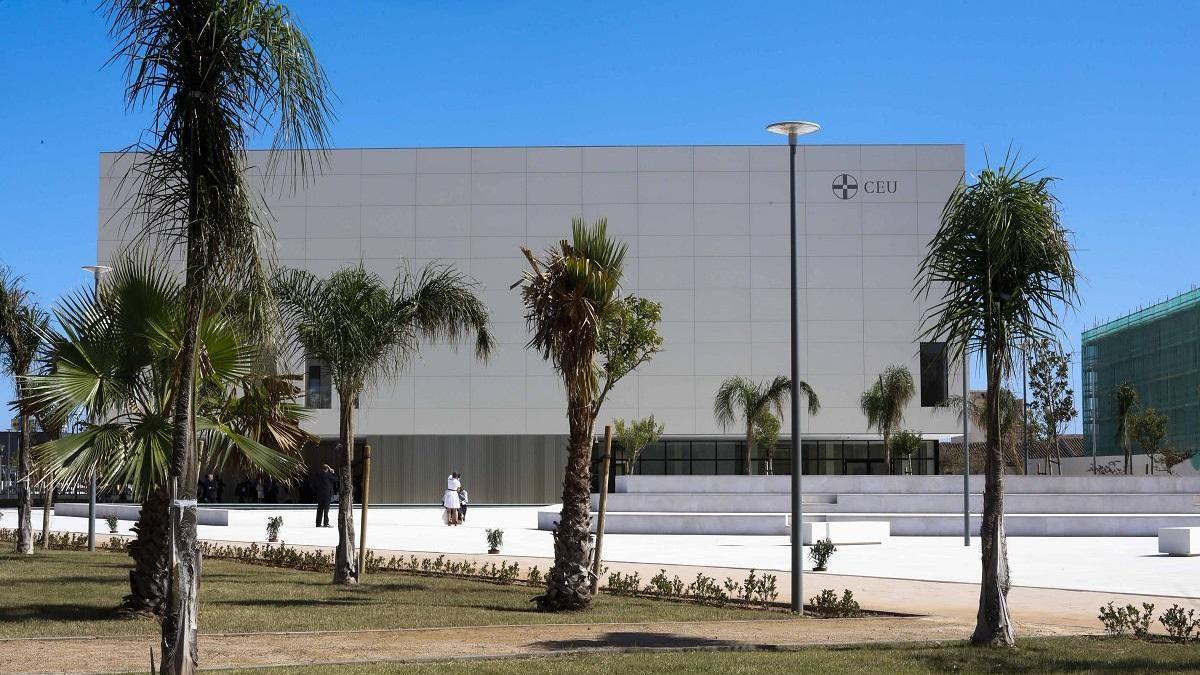 Inicio del nuevo curso escolar en la Universidad CEU San Pablo.