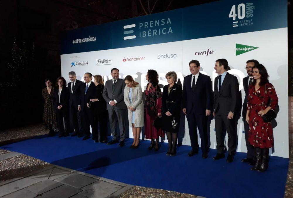 Gala del 40 aniversario de Prensa Ibérica