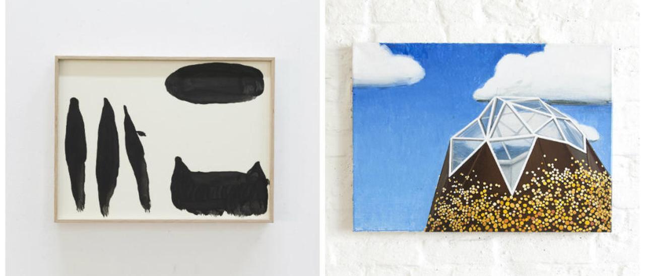 La hora del vermut es una intervención efímera e independiente de pintura contemporánea que se celebra por tercera vez en València