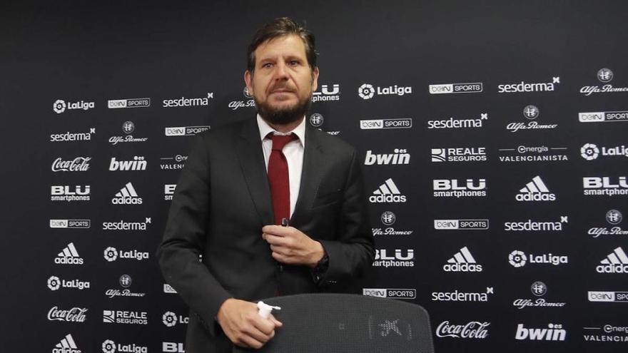 Alemany inicia la cuenta atrás para abandonar el Valencia