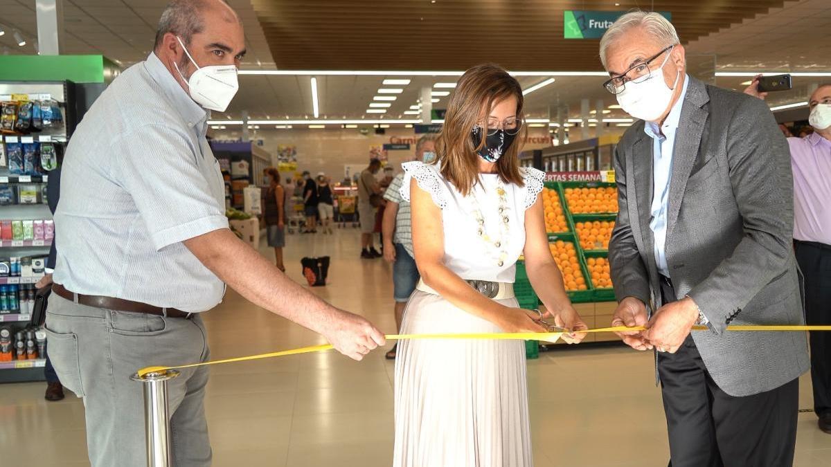 Masymas abre un nuevo supermercado en el polígono de Santa Ana