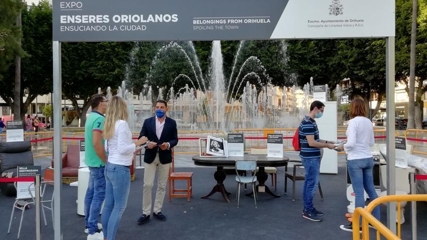 """Un """"Museo de Enseres"""" viejos y abandonados en Orihuela para concienciar"""