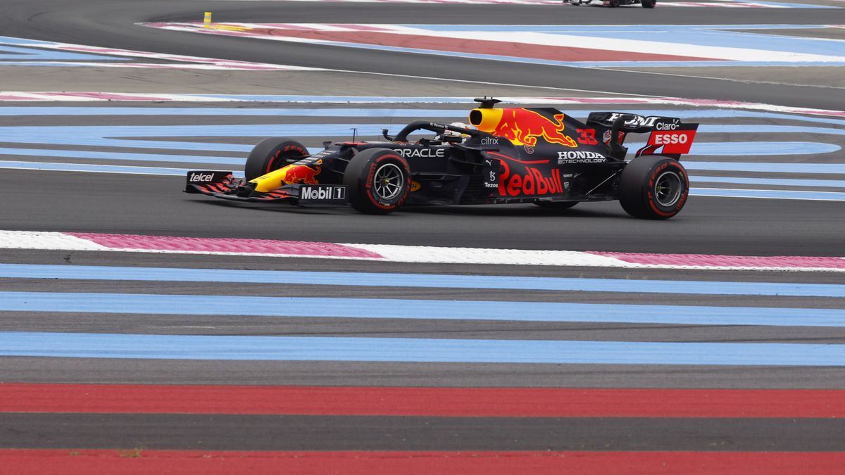 Verstappen sortirà primer en el Gran Premi de França