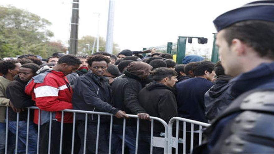 El campamento de Calais será desmantelado este lunes