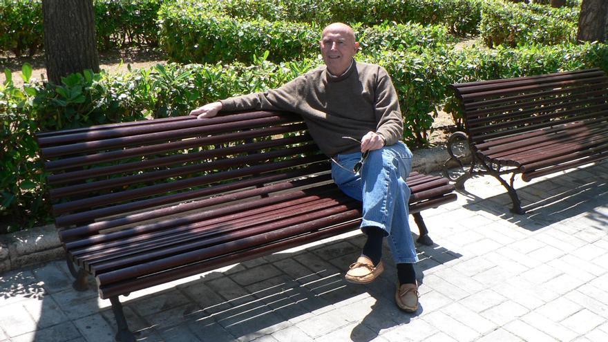 Rafael Fita posa para este diario para una entrevista en 2010.