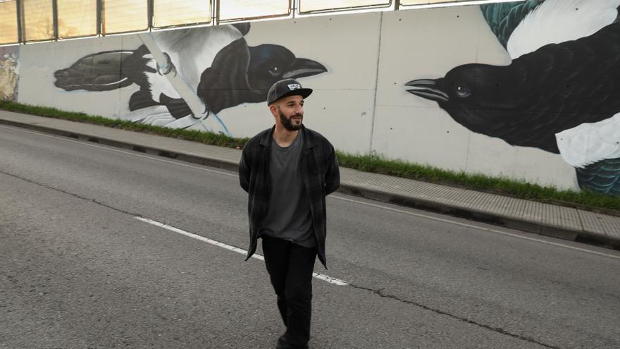 Pinceladas de libertad en los muros urbanos de Gijón