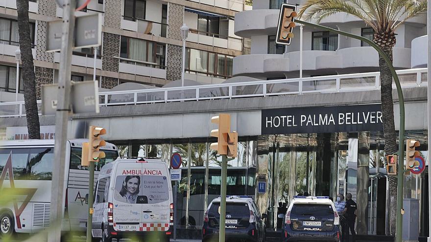 Los hoteles covid de Mallorca han alojado a 757 turistas este verano