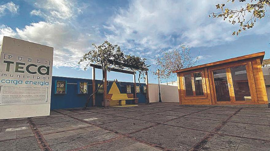 El Ayuntamiento de El Pinar amplía la 'Publiteca' del Mentidero