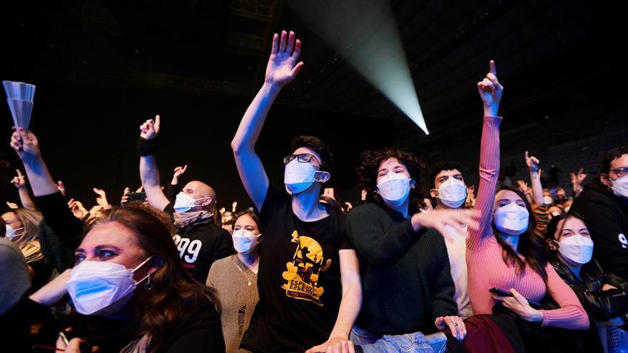 La música en vivo en España redujo un 63,78% su facturación en 2020