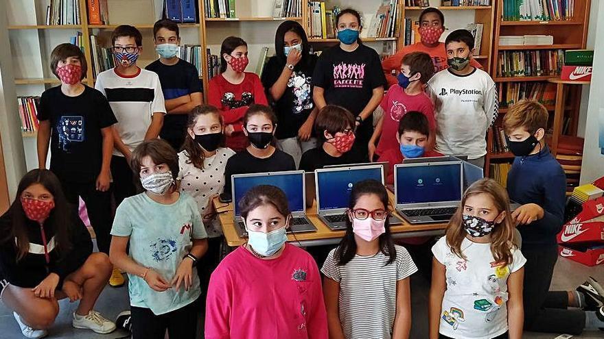 L'AMPA de Vilabertran aporta material a l'escola valorat en més de 3.000 euros