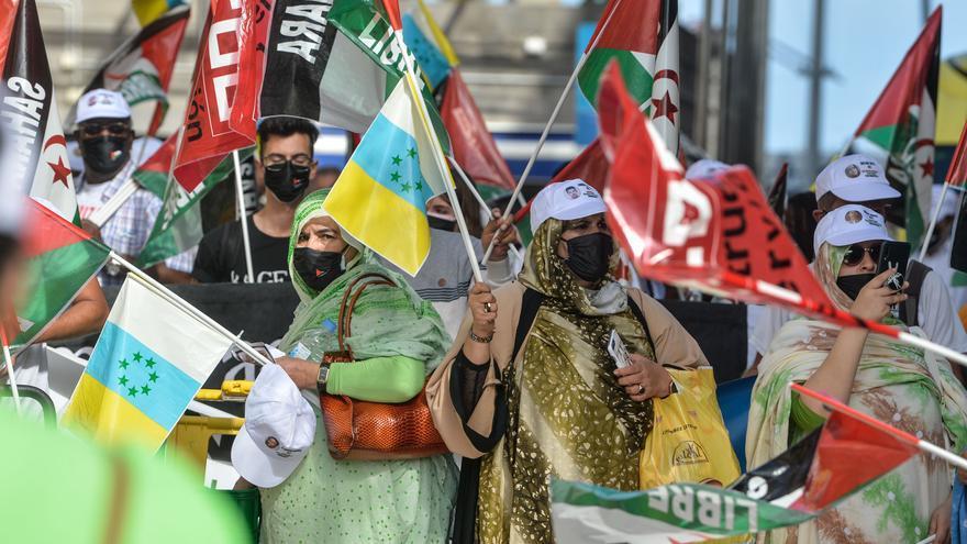 Más de 800 personas piden en Canarias la autodeterminación del Sahara