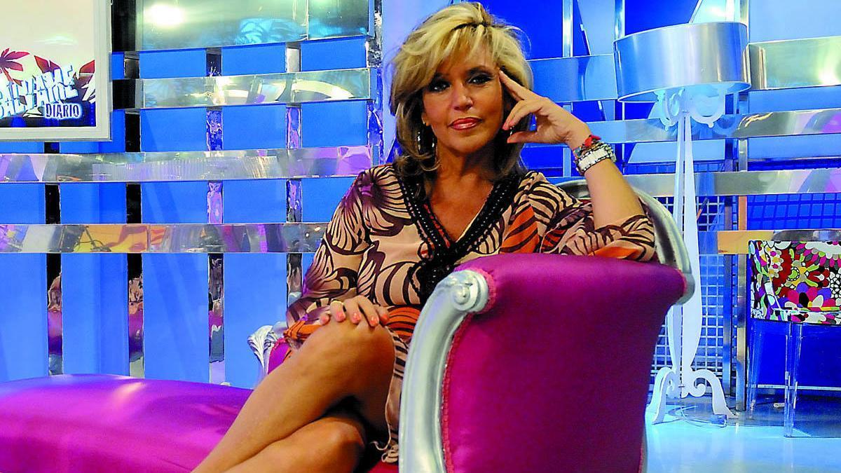 La periodista Lydia Lozano.