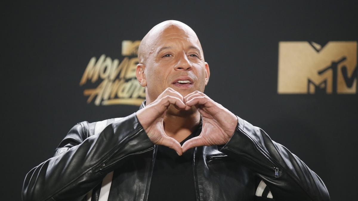 El actor Vin Diesel.
