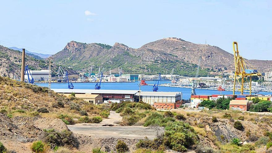 La Autoridad Portuaria inicia la descontaminación de Peñarroya