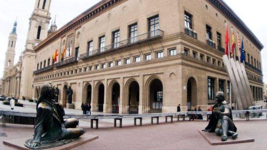 Zaragoza suspende los actos culturales del Pilar durante cinco minutos una nueva agresión sexual