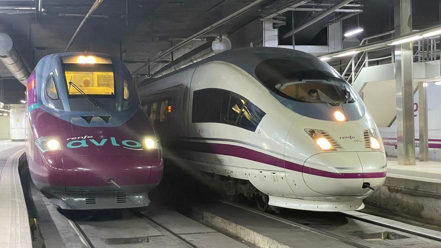 Avlo, el 'low cost' de Renfe, empieza a operar entre Barcelona y Madrid