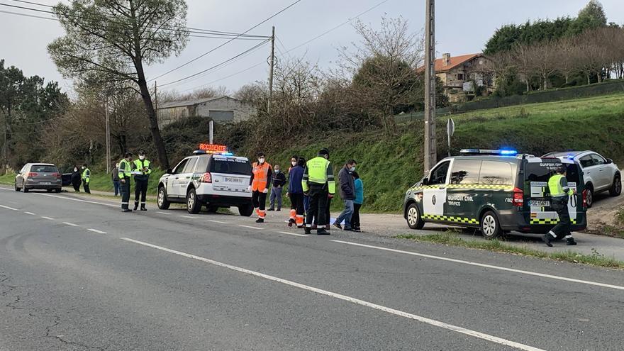 Muere una nonagenaria atropellada en Lalín