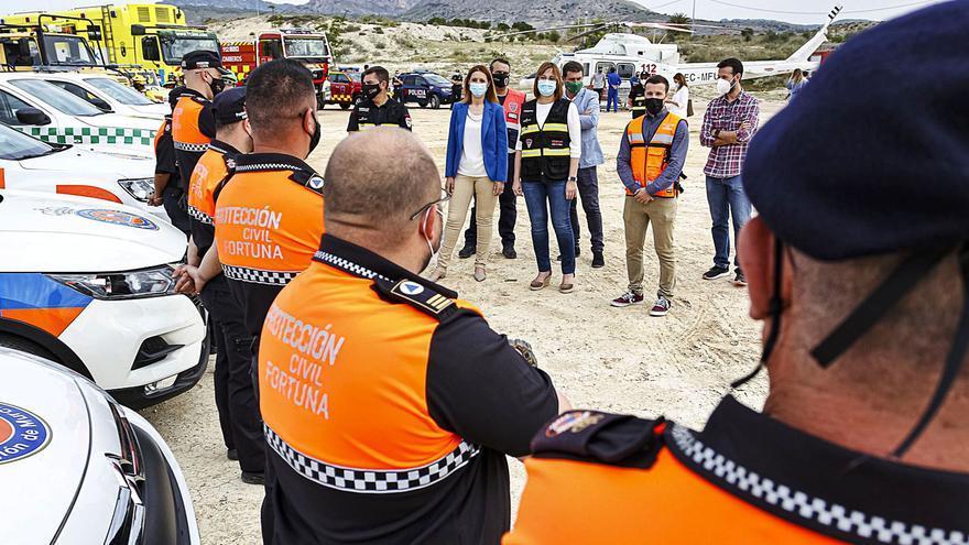 Protección Civil suma refuerzos para luchar contra los incendios