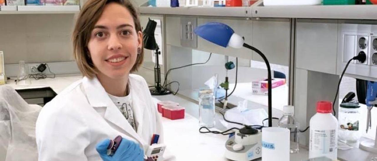 La científica Lucía Almagro. | INFORMACIÓN