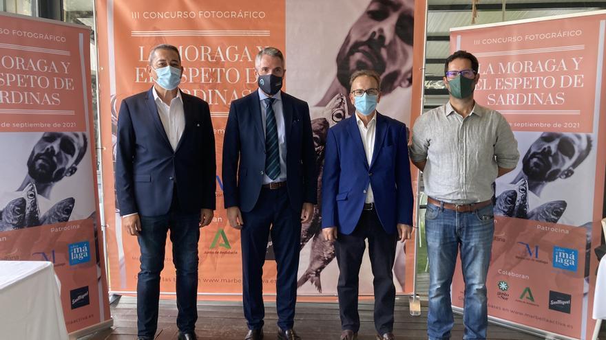 Jorge Rey Díaz gana la tercera edición del concurso fotográfico 'La moraga y el espeto de sardinas'