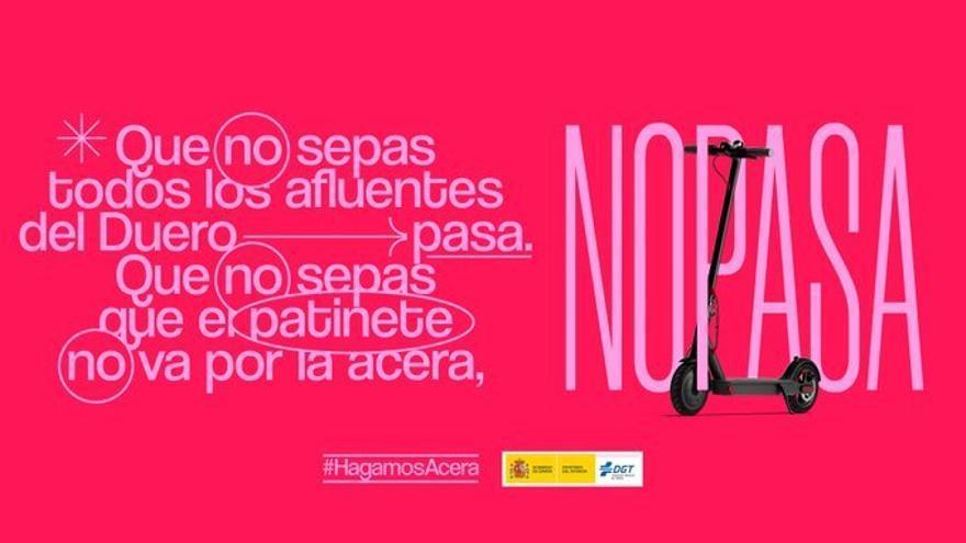 La Policía Local de Huesca se suma a la campaña 'No pasa' de la DGT