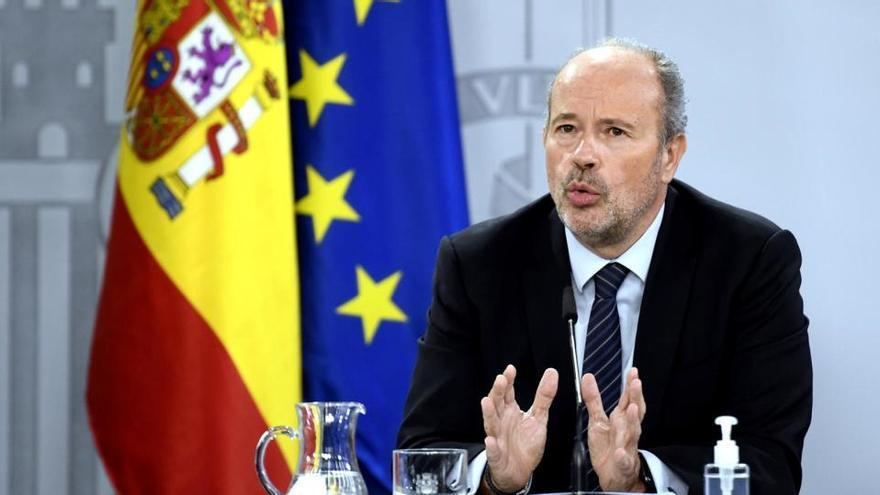 Campo sitúa la tramitación de los indultos del procés en el primer semestre de 2021