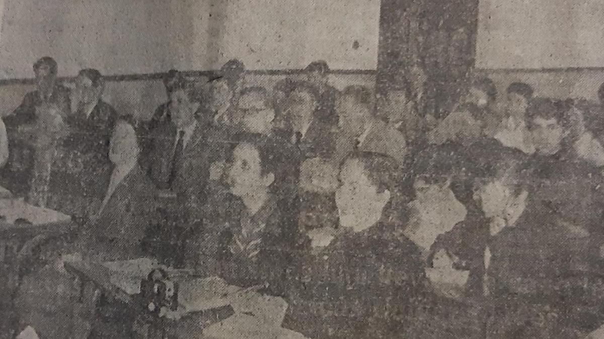1955, los primeros cursos para extranjeros