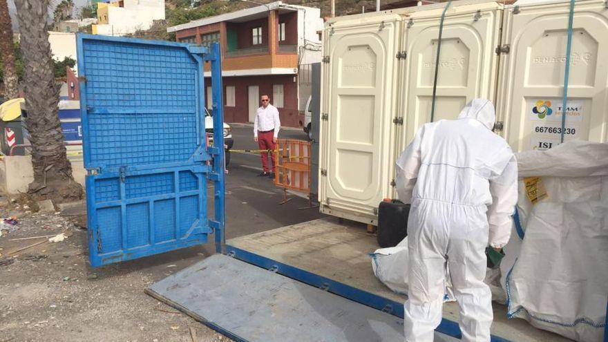 El Cabildo retira 160 toneladas de amianto en 200 inmuebles de Gran Canaria