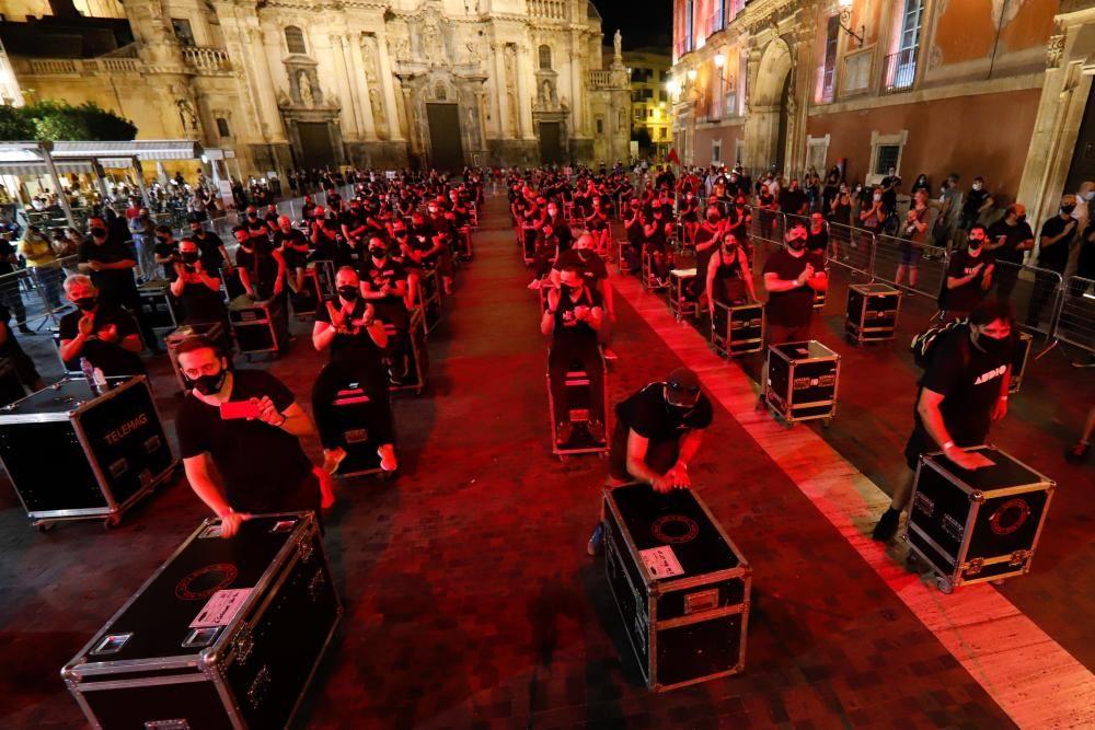 #AlertaRoja: El sector cultural reclama más eventos en Murcia