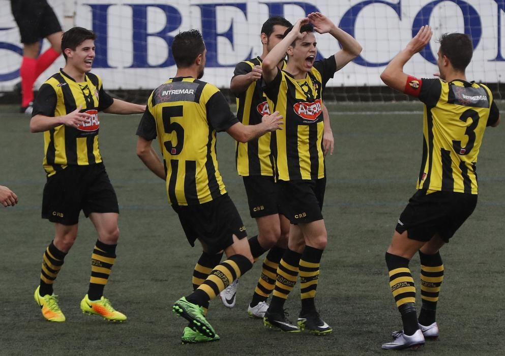 El equipo vigués golea en el Baltasar Pujales al Cayón de Cantabria y pasa a segunda ronda de la fase de ascenso